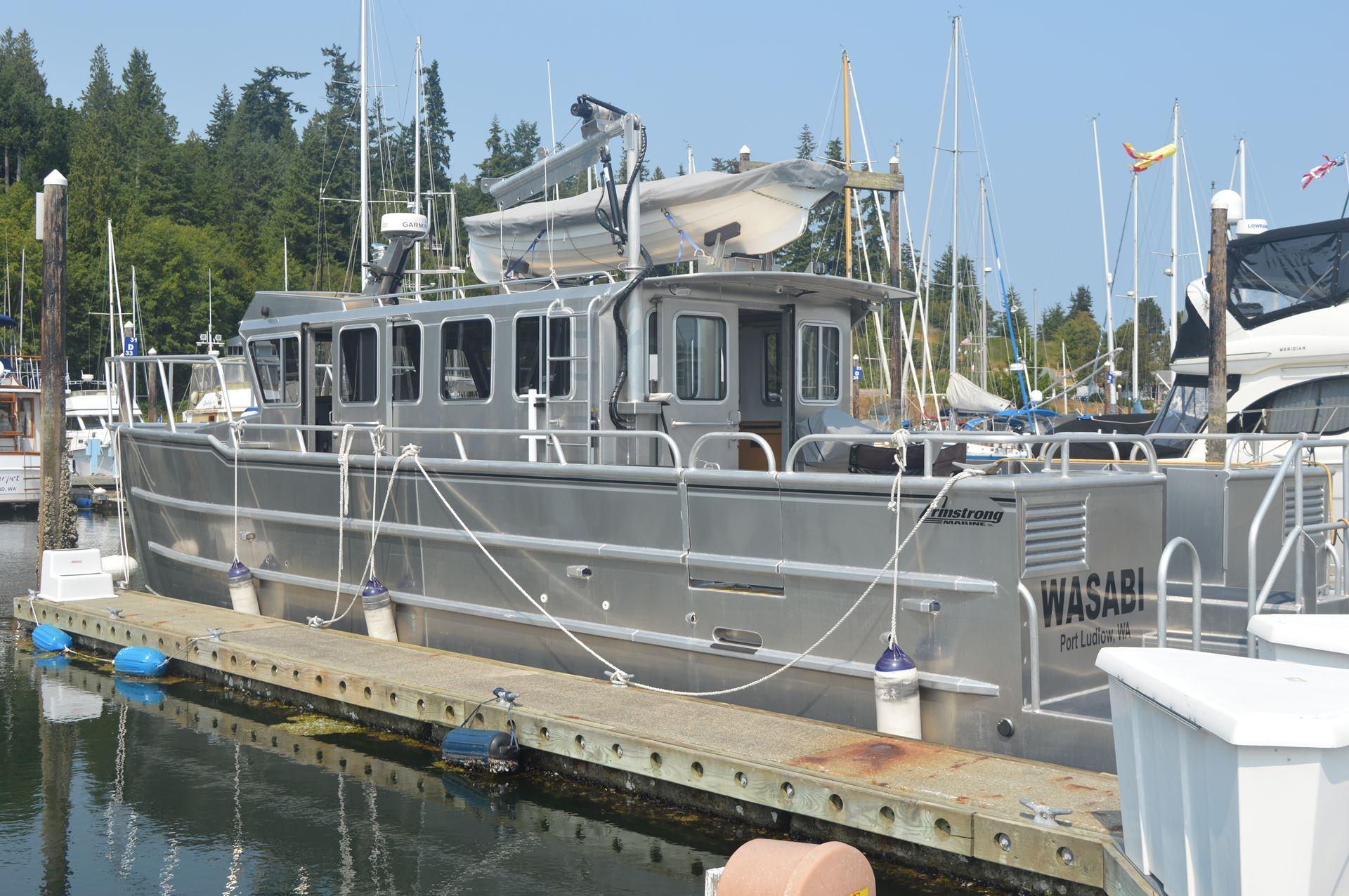 Metal Boat Society MBS Rudder